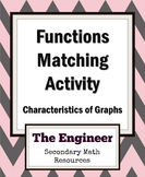 Functions Review Activity - Matching - Algebra 2