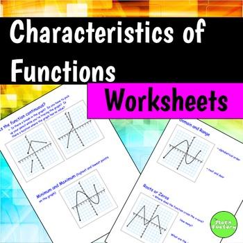 Functions By The Math Factory Teachers Pay Teachers