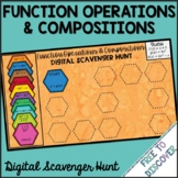 Functions Operations & Compositions Digital Scavenger Hunt