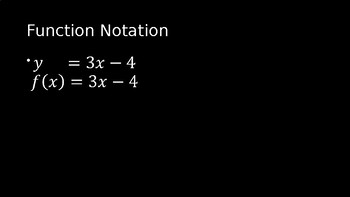 Functions - PowerPoint Lesson (2.9)