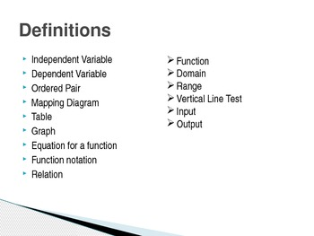 Functions Powerpoint