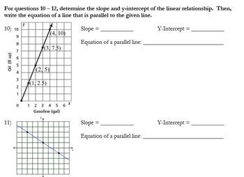 Linear Functions Review & Quiz
