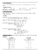 Functions Regents Review (Notes & Practice Questions)