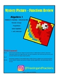 Functions Review - Algebra Vocab-Mystery Picture TEKS A1.2A A1.2C, A1.12A