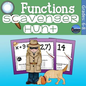 Functions Scavenger Hunt