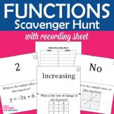 Functions Scavenger Hunt Activity