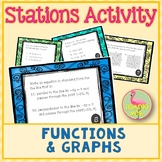 Functions and Graphs Stations Activity (Algebra 2 - Unit 2)