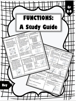 Functions Study Guide