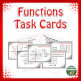 Functions Task Cards Activity
