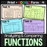 Functions Task Cards (ALGEBRA)