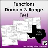 Functions Test (A2A, A12A, A12B)