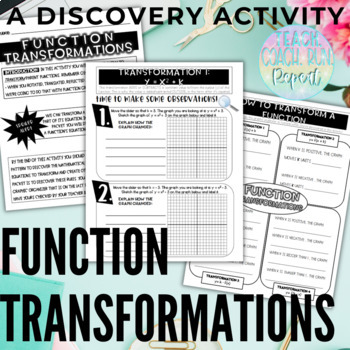 Functions Transformations: A Desmos Discovery Activity!