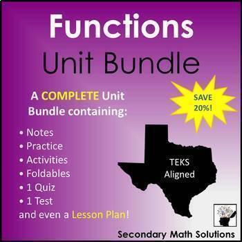 Functions (Complete Unit Bundle)