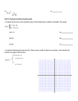 Functions Unit Test