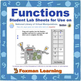 Functions -- Virtual Manipulatives Lab for Middle School Math Common Core