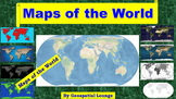 Maps of the World: Clip Art World Maps