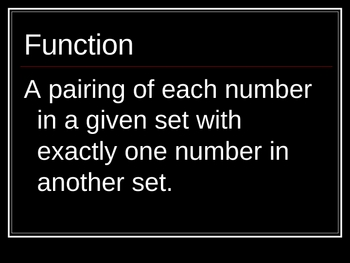 Functions and Equations PowerPoint