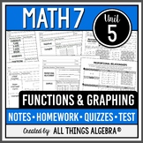 Functions and Graphing (Math 7 Curriculum – Unit 5)