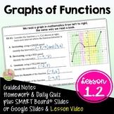 Graphs of Functions (PreCalculus - Unit 1)