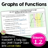 Graphs of Functions with Lesson Video (Unit 1)