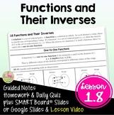 Inverse Functions (PreCalculus - Unit 1)