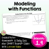Modeling with Functions (PreCalculus - Unit 1) DISTANCE LEARNING