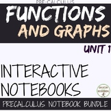 Functions and Graphs PreCalculus Curriculum Unit 1 Organizers and Notes ONLY