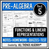 Functions and Linear Relationships (Pre-Algebra Curriculum - Unit 5)