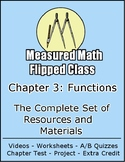 Functions and Relations - The complete chapter for a flipped Algebra 2 class.