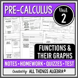 Functions and Their Graphs (PreCalculus Curriculum – Unit 2)