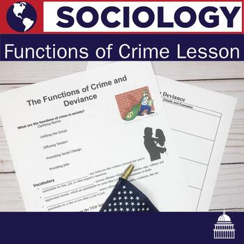 Functions of Crime Lesson