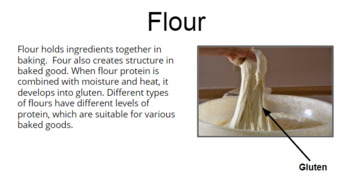 Functions of Ingredients in Quick Breads
