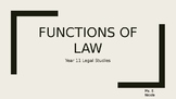 Functions of Law in Australia