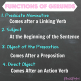 Functions of Verbals