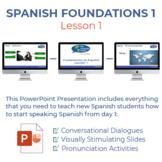 Fundamentos de Español Lección 1