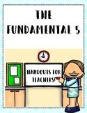 Fundamental 5 Book Study Handouts