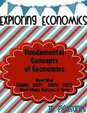 Fundamental Concepts of Economics Word Map SSEMI1 SSEF  SS