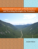 Fundamental Concepts of Mathematics I and Teaching Strategies