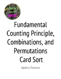 Fundamental Counting Principle, Permutations, and Combinat