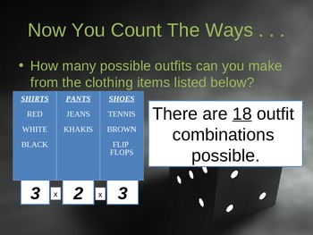 Fundamental Counting Principle and Probability Powerpoint