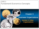 Fundamental Economic Concepts: Other Business Organizations