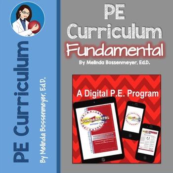 Fundamental Movement A Digital COMPLETE Physical Education Program