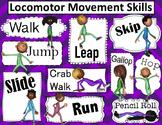 Fundamental Movement: Locomotor Movement Poster