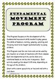 Fundamental Movement Skills Program