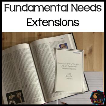 Fundamental Needs Extensions - Montessori