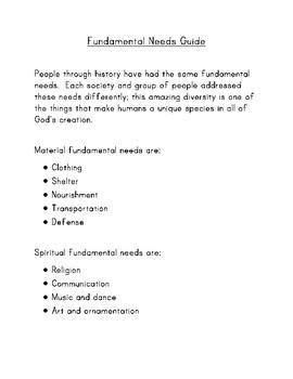 Fundamental Needs Guide