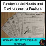 Fundamental Needs and Environmental Factors Research proje