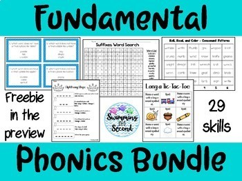 Fundamental Phonics Bundle