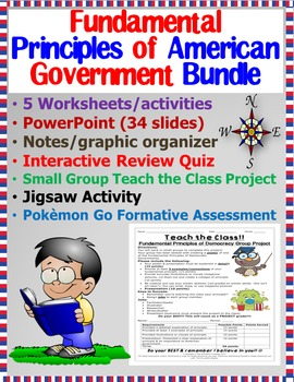 Bundle!! Fundamental Principles of American Government