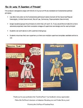 Fundamental Principles of Government Superhero Activity
